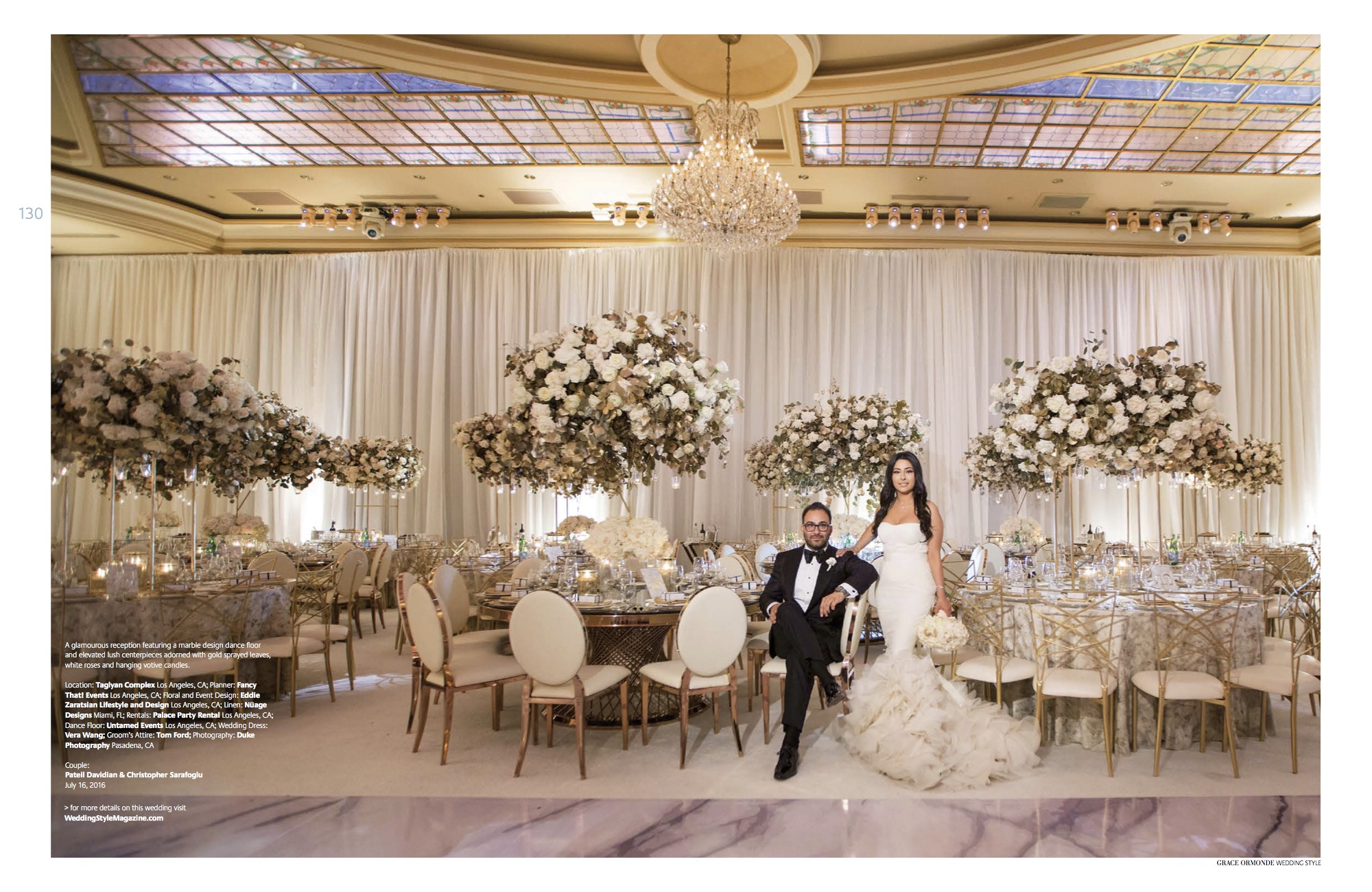 Featured in Grace Ormonde Wedding Style | Fancy That! Events